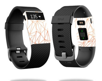 Skin Decal Wrap for Fitbit Blaze, Charge, Charge HR, Surge Watch cover sticker Fiery Poly