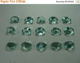 10% Off Loose Aquamarine Oval Cut Gemstones