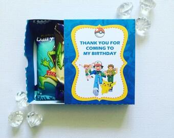 Pokemon matchboxes