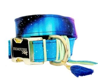 Dog collar adjustable -