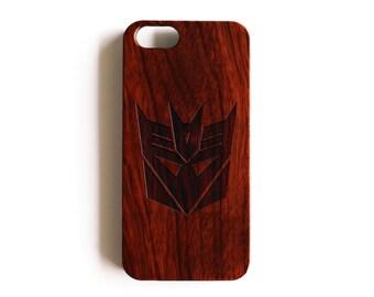 Decepticon iPhone 4/5/5C iPhone 5S case Rosewood iPhone 5C case