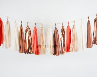 Thanksgiving Tassel Garland, Autumn Tassel Garland, Fall Leaves Garland, Fireplace Mantle Decor, Fall Baby Shower, Fall Party Decorations