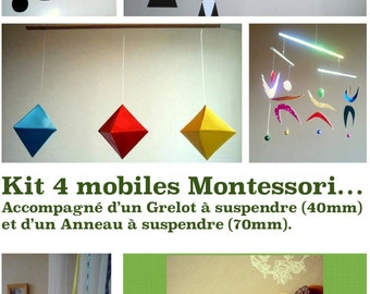 A whole set of Montessori Mobile