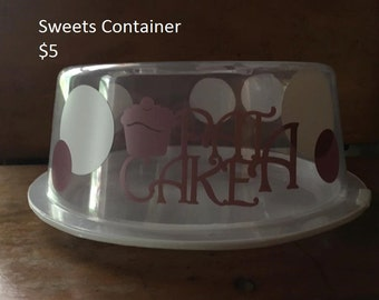 Sweets Carrier or Drink Pitcher