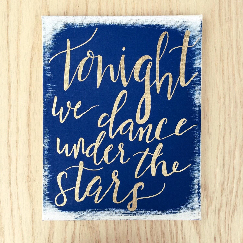 Starry night wedding | Etsy