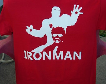 Iron Man Silhouette T-Shirt