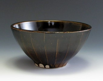 Brown Serving Bowl