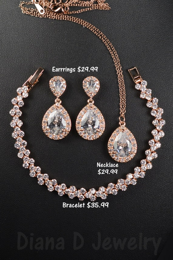 Diamond Necklace Wedding Gift : Earrings Jewelry Sets Necklaces Pendants Rings