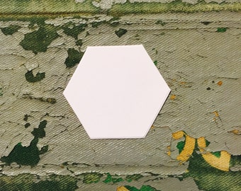 """1"""" Hexagon for English Paper Piecing by All Quilty  Choose package Size"""