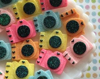 Cute Camera Resin Cabochons - Kawaii Decoden Cabochon Mix - Embellishments