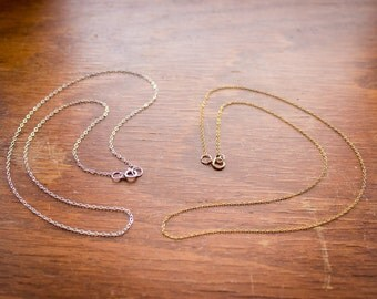 Gold-Filled/Sterling Silver Chain with Pendant Order