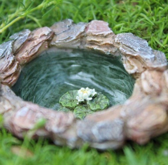 Gorgeous Tiny Fairy Garden Pond Miniature Pond Miniature Lily Pad Fairy  With Goodlooking Tiny Fairy Garden Pond Miniature Pond Miniature Lily Pad Fairy Garden  Accessories Fairy Garden Supplies With Lovely Squires Garden Centre Sunbury Also Garden Centres Nearby In Addition Garden Dept And Garden Swings Online As Well As Oliv Garden Additionally Garden Park Homes From Etsystudiocom With   Goodlooking Tiny Fairy Garden Pond Miniature Pond Miniature Lily Pad Fairy  With Lovely Tiny Fairy Garden Pond Miniature Pond Miniature Lily Pad Fairy Garden  Accessories Fairy Garden Supplies And Gorgeous Squires Garden Centre Sunbury Also Garden Centres Nearby In Addition Garden Dept From Etsystudiocom