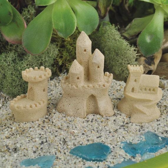 Fairy Garden Sand Castle Miniature Sand Castle Miniature