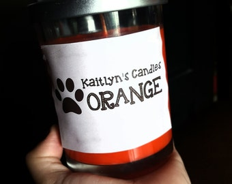Orange Scented Soy Candle
