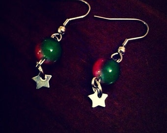 Christmas Star Stainless Steel Earrings