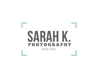 Photography Logo - Custom Logo Premade Design, Photography watermark, Logo Designer, Graphic Design, Watermark Logo, Premade Business Logo