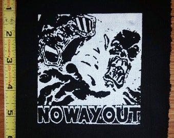 outo no way out cloth patch