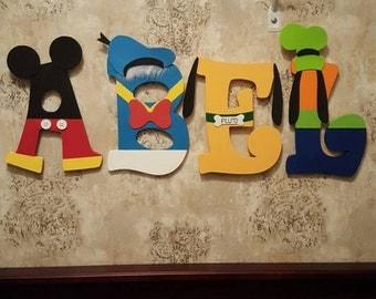 Custom Hand Painted Nursery Letters