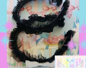 Cute Halloween Maid Headband - Choose One
