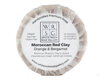Moroccan Red Clay Vegan All Natural Soap