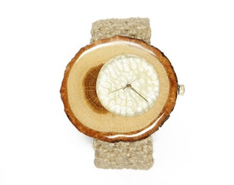 Watch, wooden watch, natural wood watch, unique watch, wood watch, gift ideas, wrist watch, design watch