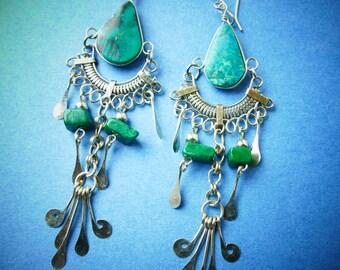 Boho Earrings /  Bohemian Earrings / Boho Jewelry / Dangle Earrings / Ethnic Earrings / Gypsy Earrings / Bohemian Jewelry / Gift For Her /G1