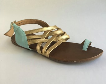 Brazilian Leather Sandals for Women