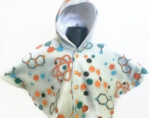 Baby Shower Gift - Infant Car Seat Poncho - Toddler Car Seat Poncho - Baby Car Seat Poncho - Car Seat Poncho - Fleece Hooded Poncho - Unisex