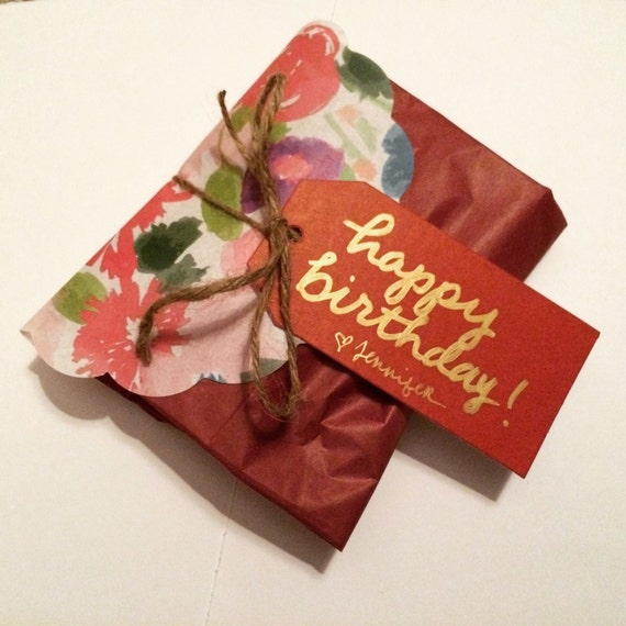Add A Gift Tag or Upgrade Wrapping