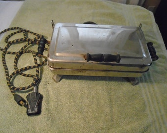 Antique grill / antique sandwich griddle / antique panini / sandwich press