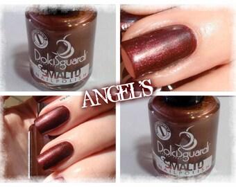 nail polish, long-lasting color BROWN PEARL