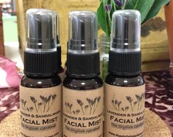 Lavender & Sandalwood Facial Mist