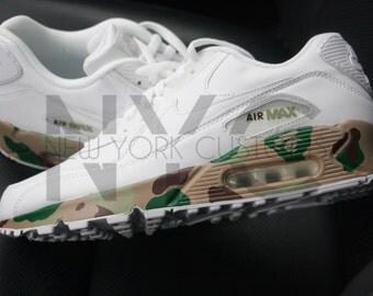 Bape Camo Nike Air Max 90 Custom Men Women & Kids