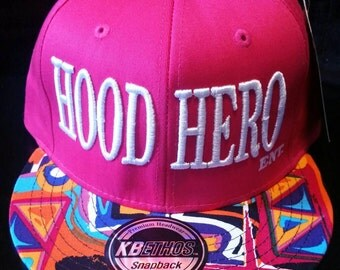 Multicolored Hood Hero Ent snapback