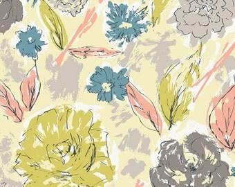 Art Gallery Tapestry Paper Flowers Aurora (Half metre)