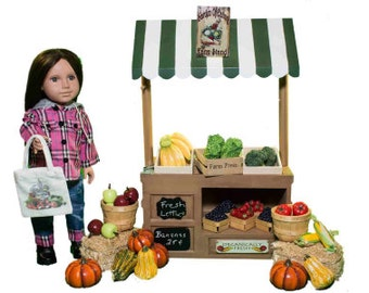 "Interchangeable Farm Stand, Furniture For 18"" Girl Dolls"