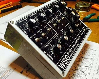 WSG weird sound generator analog drone synth box