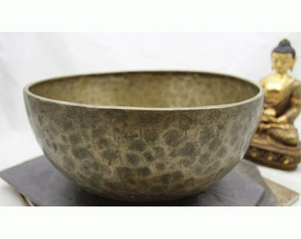 10.5 inch singing bowl Eb4 320hz