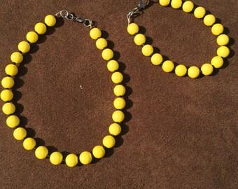 Yellow and Black Set