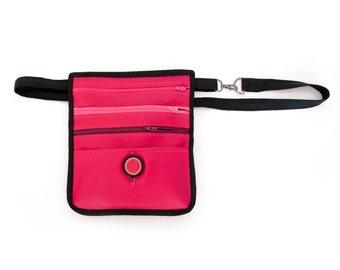 "Belt bag ""Pinky"" - waist purse with pockets, custom design available!"