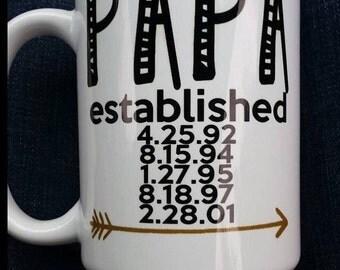 Papa Coffee Mug.