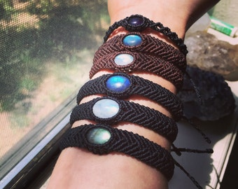 Custom Small layering bracelet! Your choice of stone!