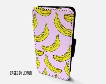 BANANA Case For Samsung Galaxy S7 Edge Wallet Case For Samsung Galaxy S7 Edge Leather Case For Samsung Galaxy S7 Edge Leather Wallet Case