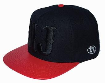 New jersey hat black & Baby blue