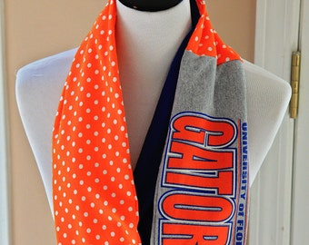 Florida Gators Infinity Scarf, Game Day,