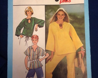 Jiffy Pullover Top vintage Pattern
