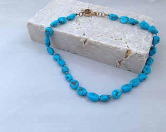 "16.5"" Turquoise Necklace"