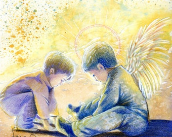 We All Have Guardian Angels by Gina Burns - A Children's Book