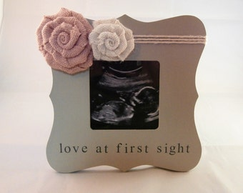 Ultrasound picture frame love at first sight frame