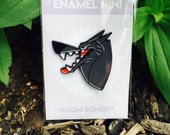 Big Bad Wolf Soft Enamel Pin Badge